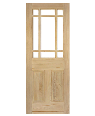 Victorian Pitch Pine Vestibule Unglazed Internal Door Early Doors Ltd
